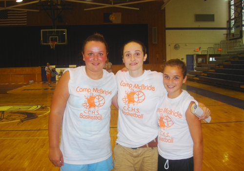 'This camp was the best camp ive ever went to. Julie is a great basketball player and great person.' 2006 camper